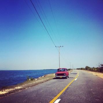 w drodze przy Ancon