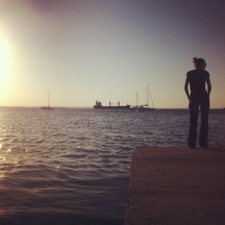 Strenik i morze