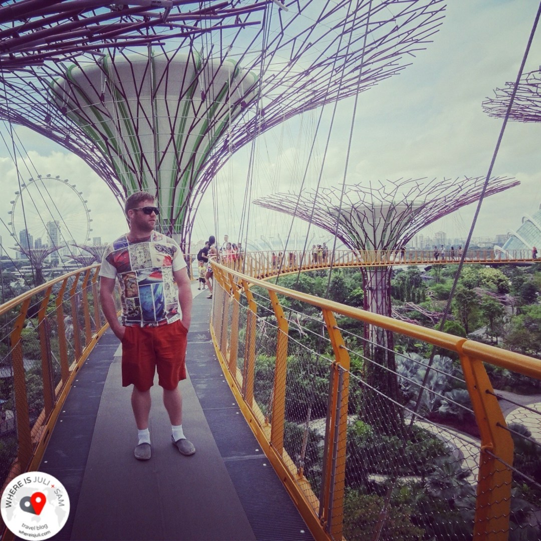 Sam i Gardens By the Bay