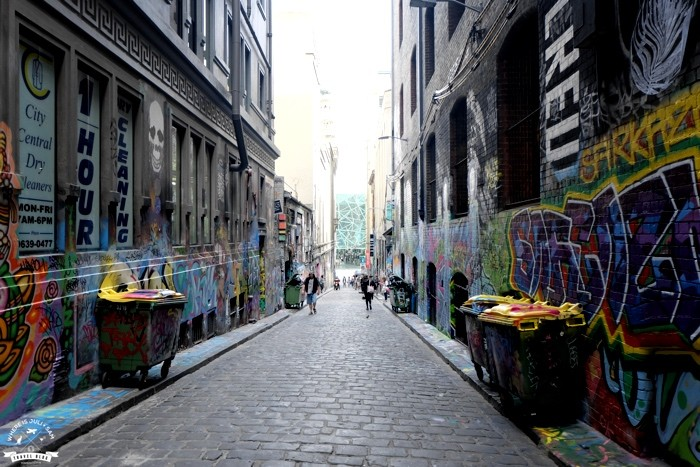 Hosier Lane uliczka