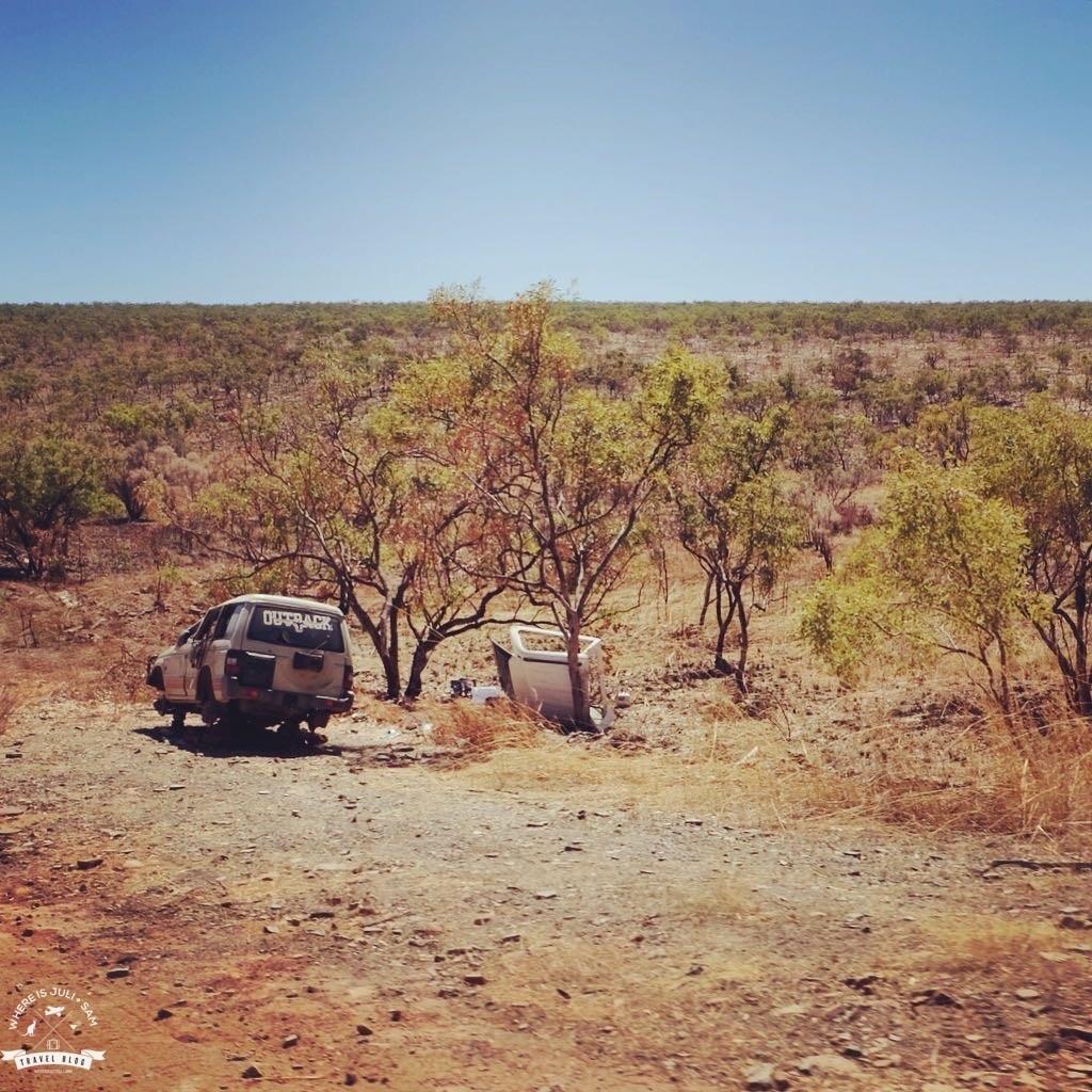 wrak na outbacku