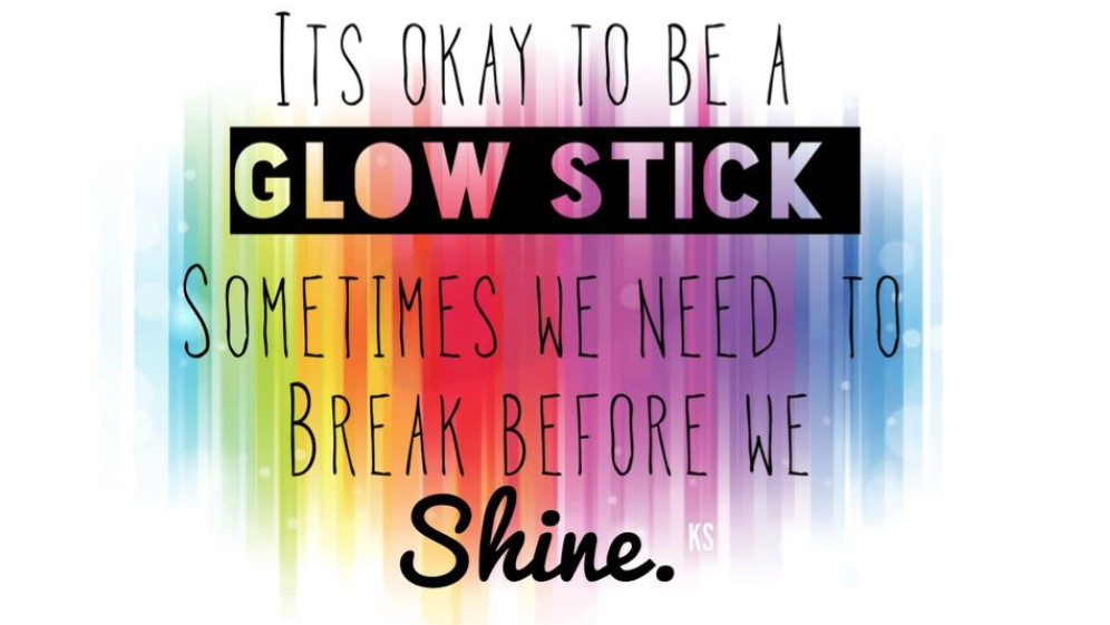 I's ok to be a glowstick