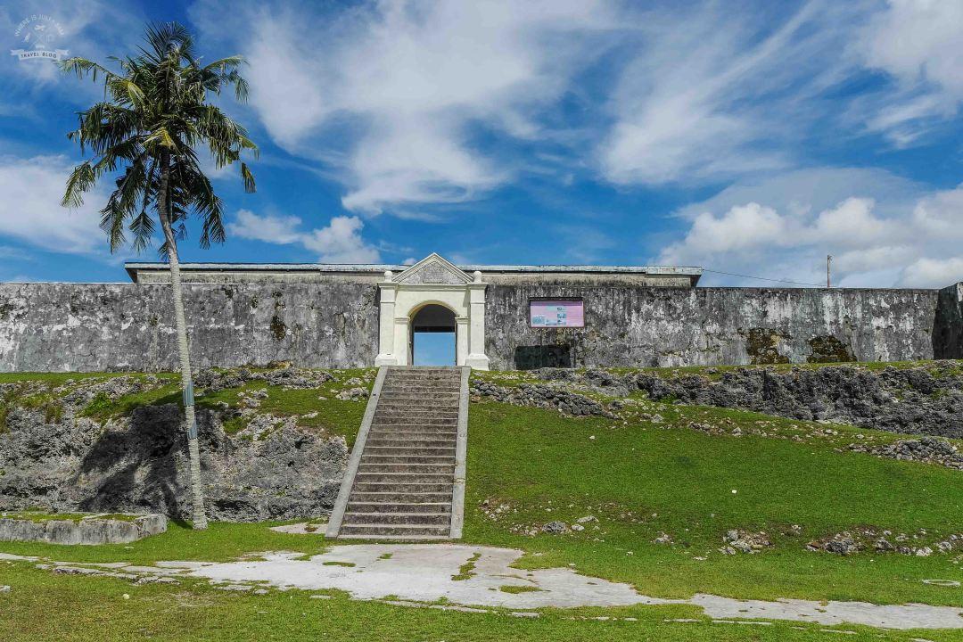 Fort Duurstedeobronny na wyspie Saparua