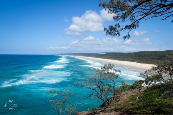 Trasa Sydney Brisbane North Stradbroke Island plaże