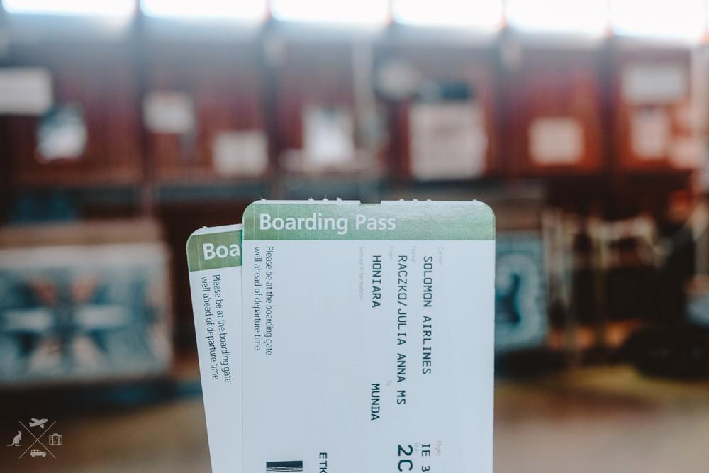Kary pokładowe lini Solomon Airlines