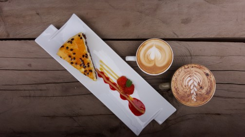 Café nook con cheese cake
