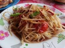 resto Papaya salad