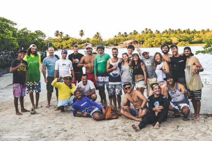 Brésil kitetrip Icaraizhino avec Technosurf proshop Genève