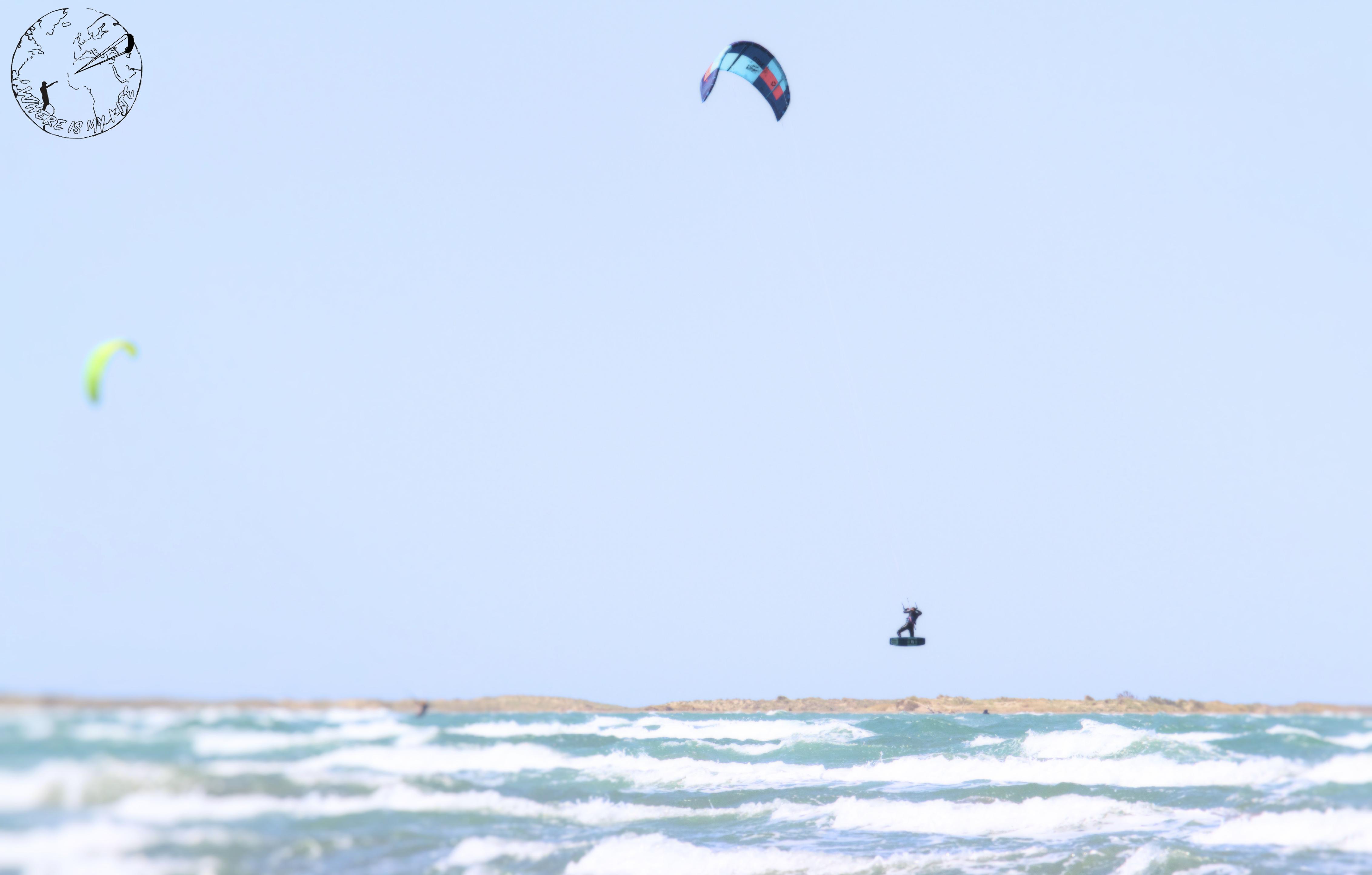 Test de la Duotone Neo à Beauduc, spot de kitesurf en France