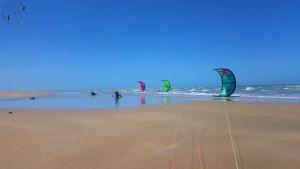 Downwind Icarai Jeri flat session kitetrip Brésil