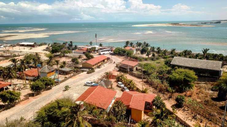Spot de kite, village de Macapa, kitetrip Brésil