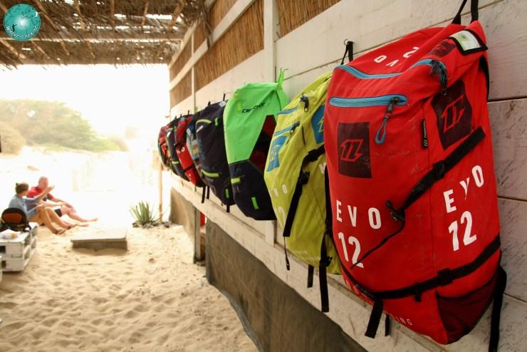 KiteZone Bubista aile à dispo pour les cours, Crazyfly, North, Duotone, Cap Vert, Boa Vista kitespot