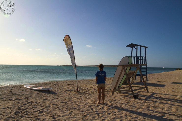 Main spot KiteZone Bubista, école de kitesurf avec Alix, Cap Vert, Boa Vista