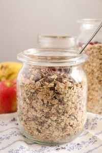 %name Homemade Muesli Mix   No Added Sugar or Oil, Vegan, Gluten Free