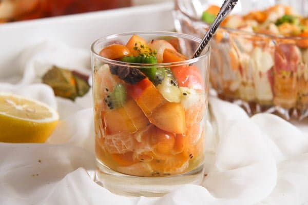 fruit salad 5 Winter Fruit Salad with Cinnamon Star Anise Dressing