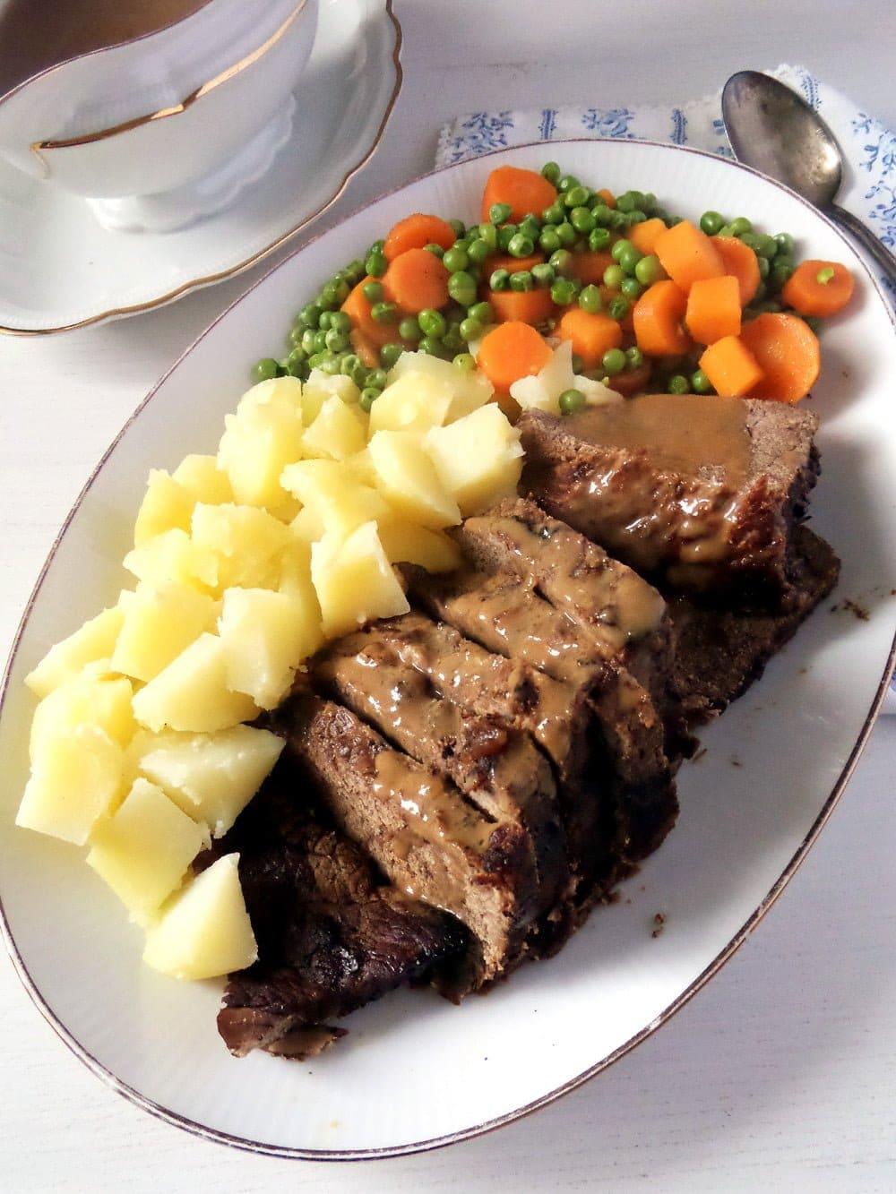 balsamic roast beef Easy Roast Beef with Balsamic Vinegar Sauce