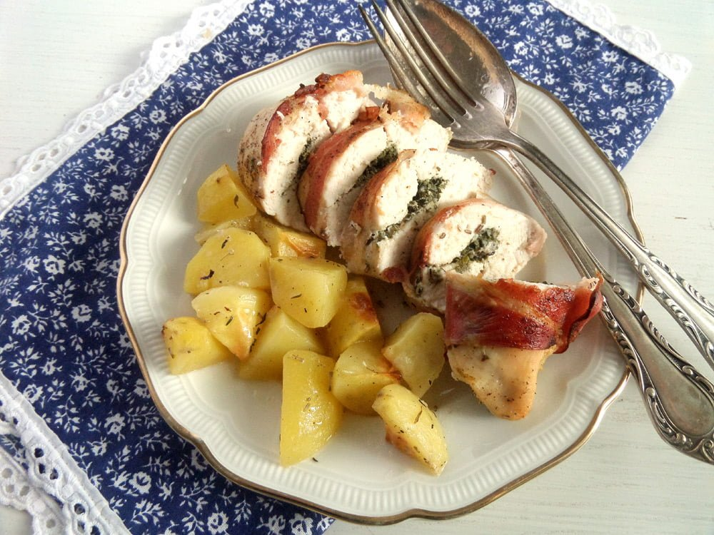 Recipes with chicken breast bacon and potatoes