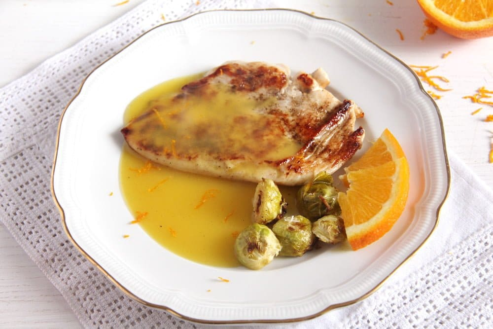 chicken with orange sauce Skillet Chicken Breasts with Velvety Orange Sauce