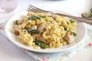 %name asparagus chicken pasta