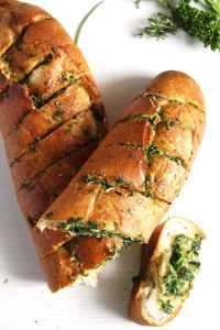 %name herb bread garlic