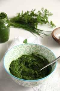 %name parsley paste herbs