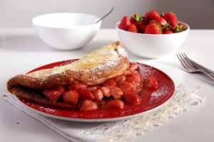%name strawberry thick pancakes