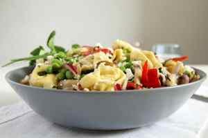 %name tortellini salad herbs