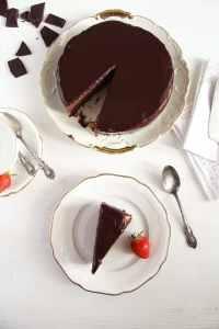 %name chocolate mirror glaze