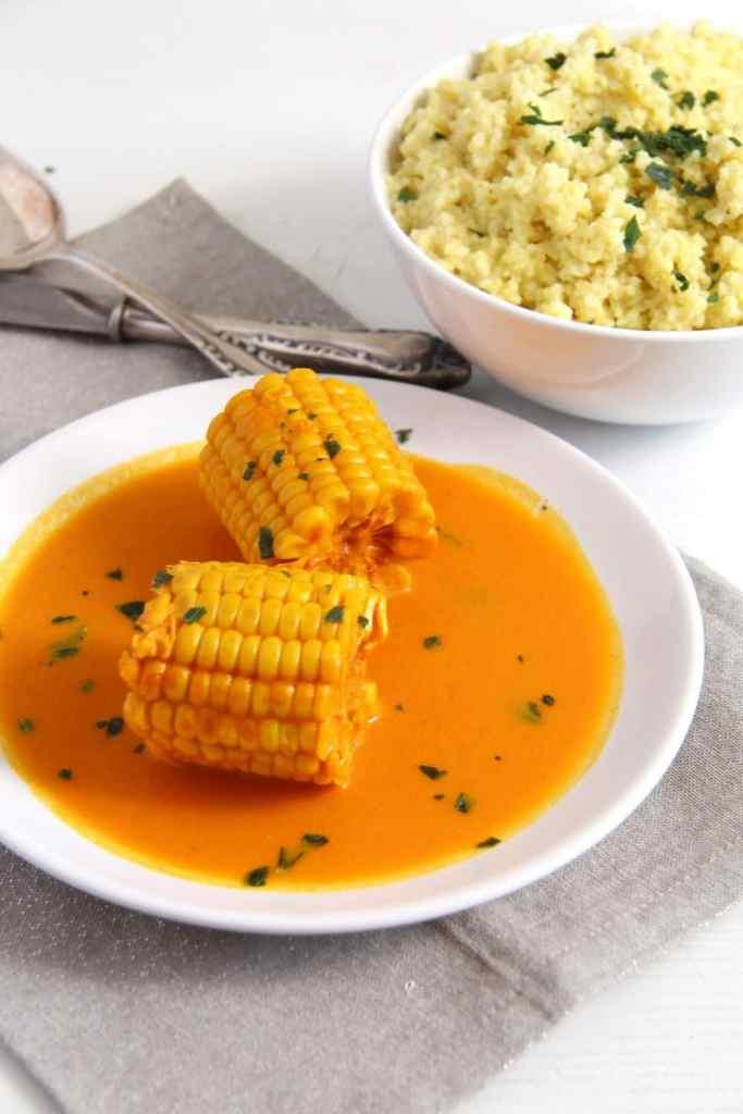 somali corn turmeric 683x1024 Somali Corn in Coconut Turmeric Sauce