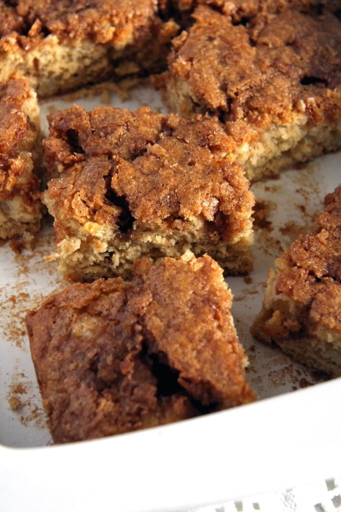 apple cake cinnamon 683x1024 Easy Apple Cinnamon Cake with a Sugar Topping