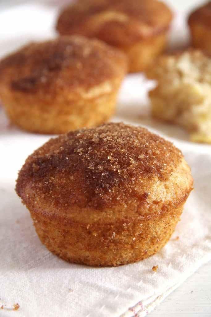 apple doughnuts 683x1024 Quick Apple Cinnamon Doughnut Muffins