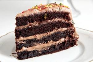 %name chocolate gateau slice