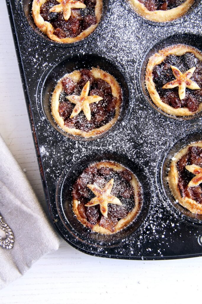 mince pies english 683x1024 Fruit Mince Pies with Homemade Mince Pie Filling