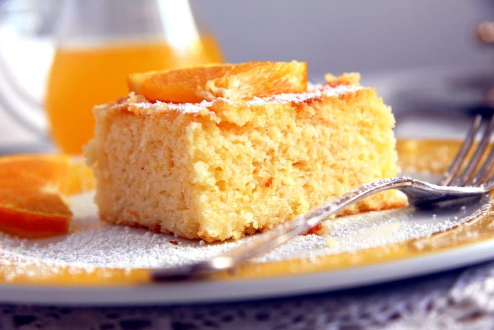 Polenta Orange Cake – Malai dulce