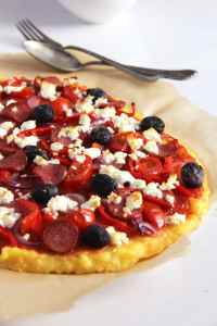 %name polenta pizza olives