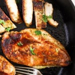 %name Basic Skillet Chicken Breasts