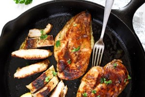 %name Basic Skillet Chicken Breast