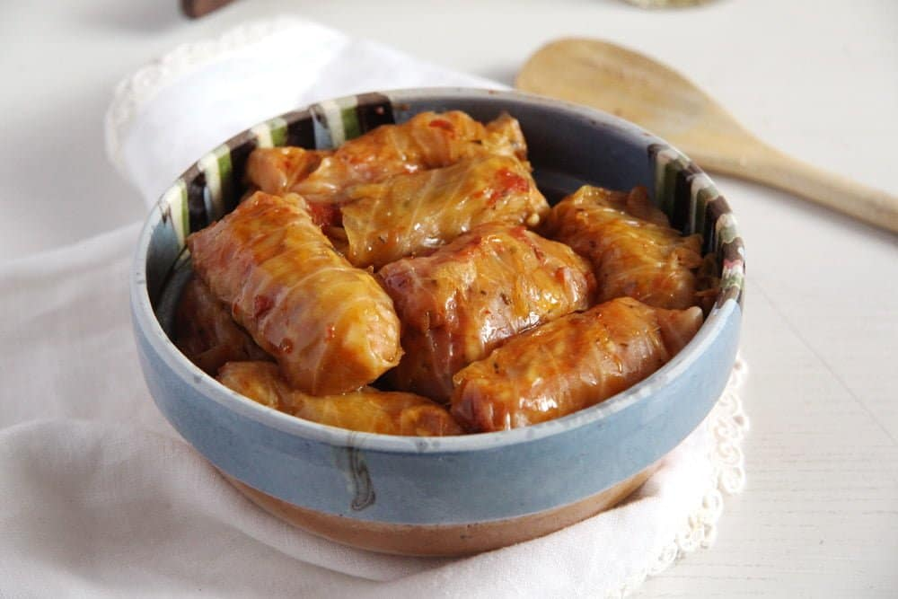 Vegan Rice Cabbage Rolls