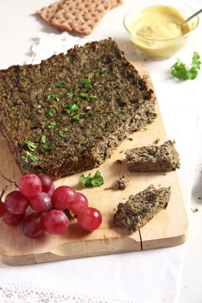 chicken pate easter 683x1024 Romanian Easter Chicken Drob or Pastete   Drob de pui