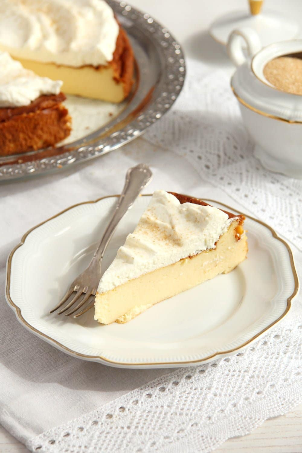 crustless cheesecake cream Crustless Cheesecake