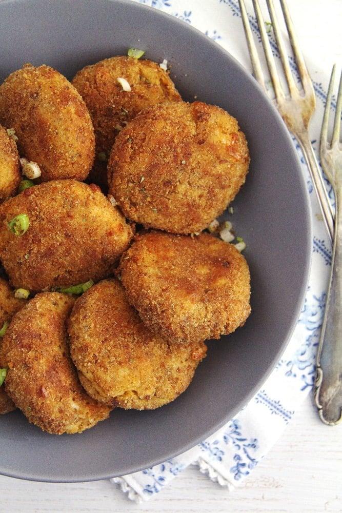 Cauliflower Potato Patties