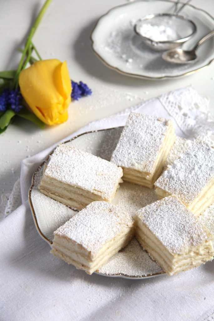 romanian lemon cake 1 683x1024 Layered Romanian Lemon Cake – Lamaita or Alba ca Zapada
