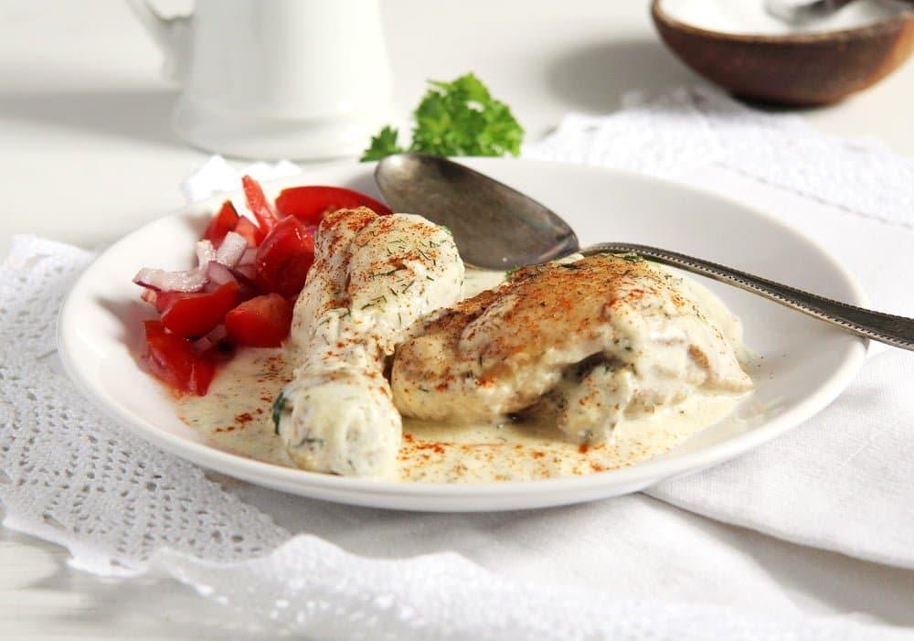 Chicken in Cream Sauce