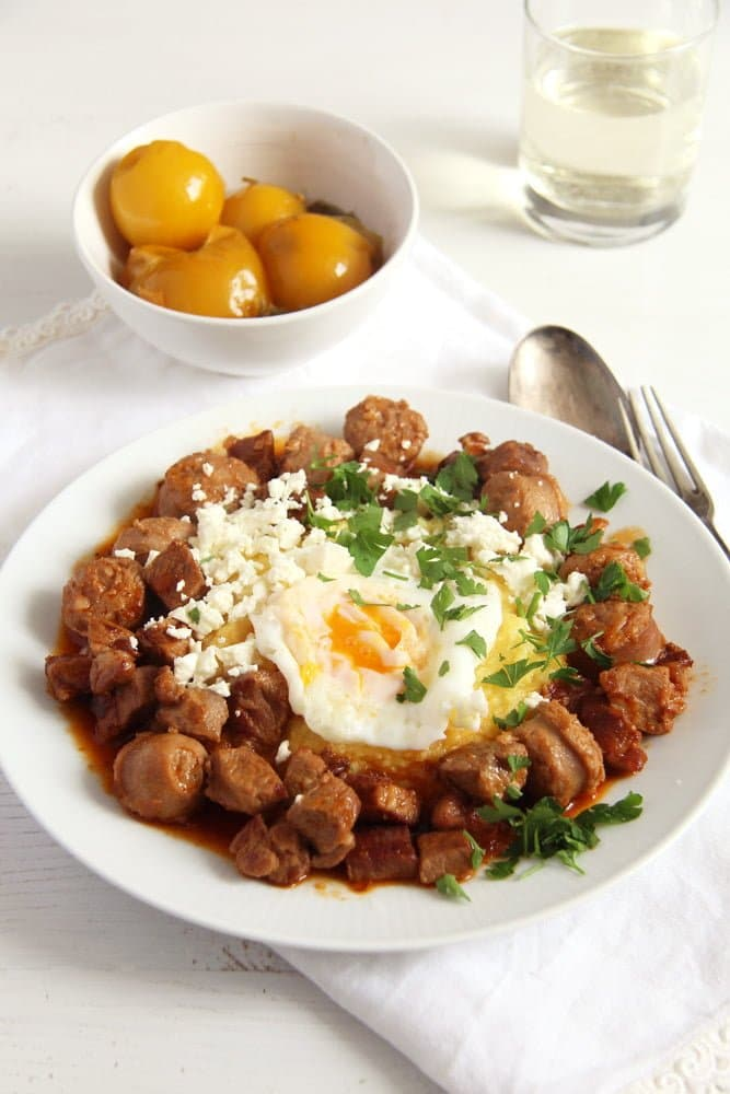 moldavian meat stew Moldavian Stew with Cheese and Eggs