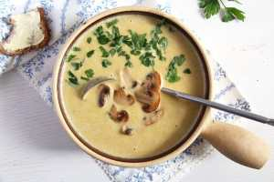 %name Creamy Mushroom Soup with Cream Cheese
