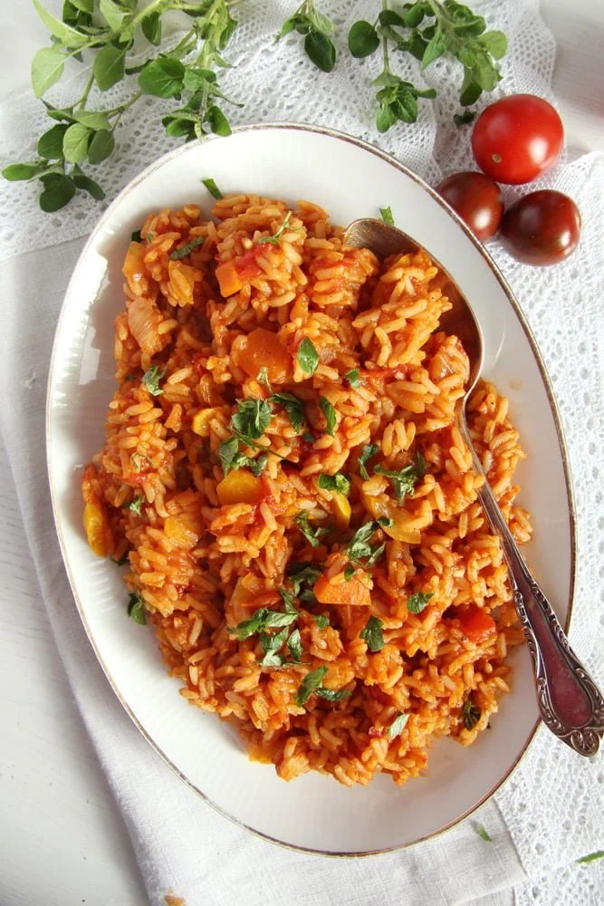 Vegan and healthy tomato rice with zucchini and carrots tomato rice zucchini vegan and healthy tomato rice with zucchini and carrots forumfinder Choice Image