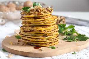%name Easy Savory Butternut Squash or Pumpkin Fritters