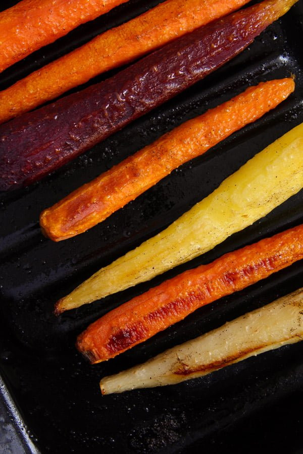 carrots oven ed 1 The Easiest Recipe for Whole Roasted Carrots with Olive Oil