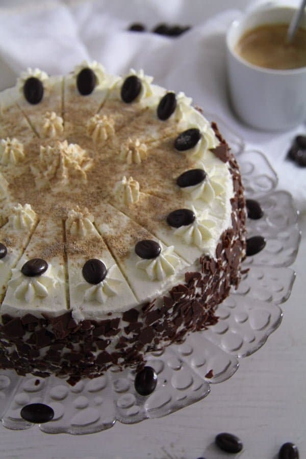 coffee cake ed 1 Cappuccino Whiskey Cake with Cream Cheese Filling