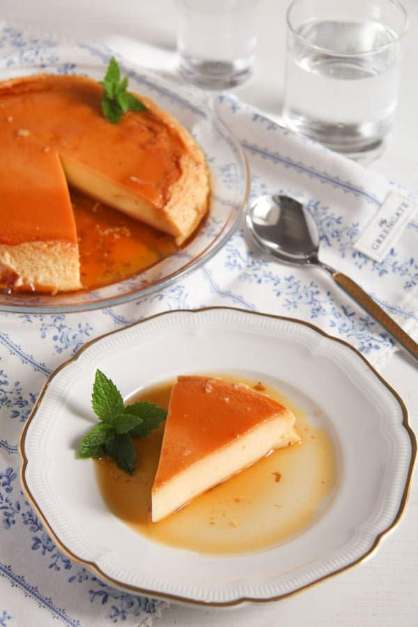 creme caramel ed 5 Smooth Creme Caramel or Flan – Romanian Recipe